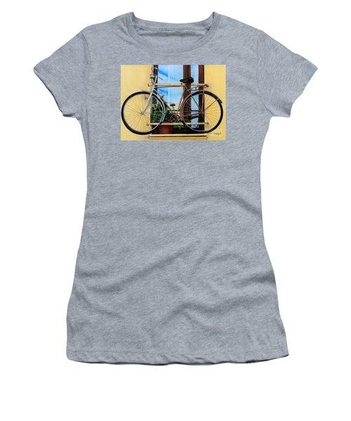 Bike In The Window Women's T-Shirt