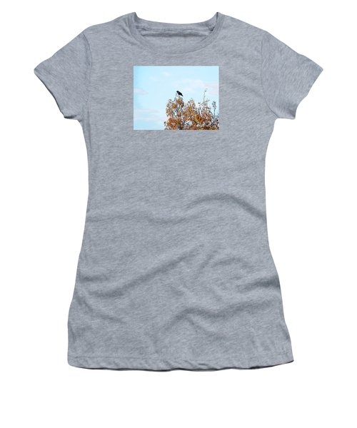 Bird On Tree Women's T-Shirt (Athletic Fit)
