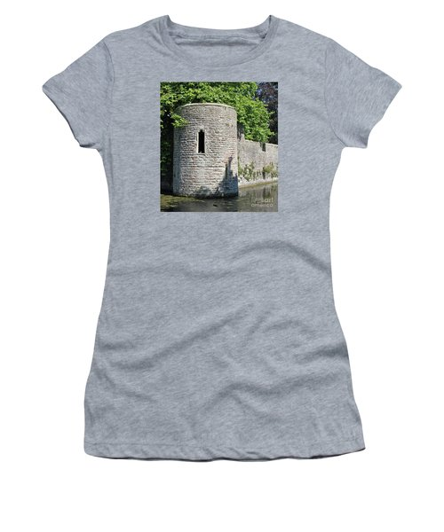 Women's T-Shirt (Junior Cut) featuring the photograph Birds Eye View by Linda Prewer