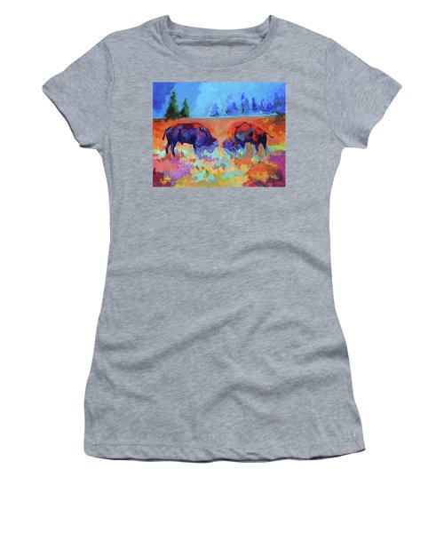 Bison Contest Women's T-Shirt (Athletic Fit)