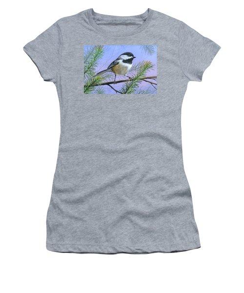 Black Cap Chickadee Women's T-Shirt