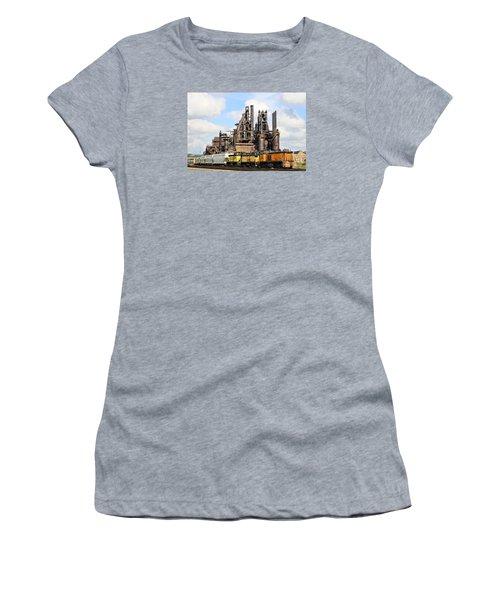 Blast Furnaces Of South Bethlehem Women's T-Shirt