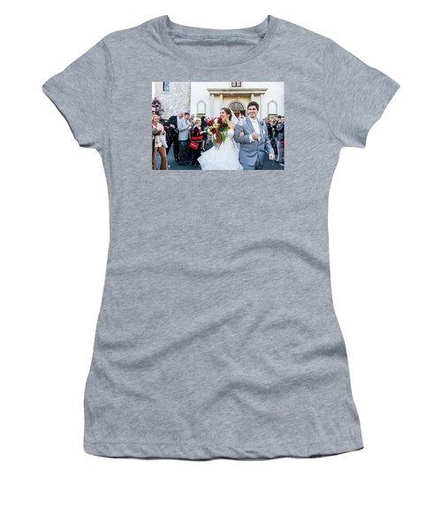 Blis Women's T-Shirt (Junior Cut) by Annette Hugen