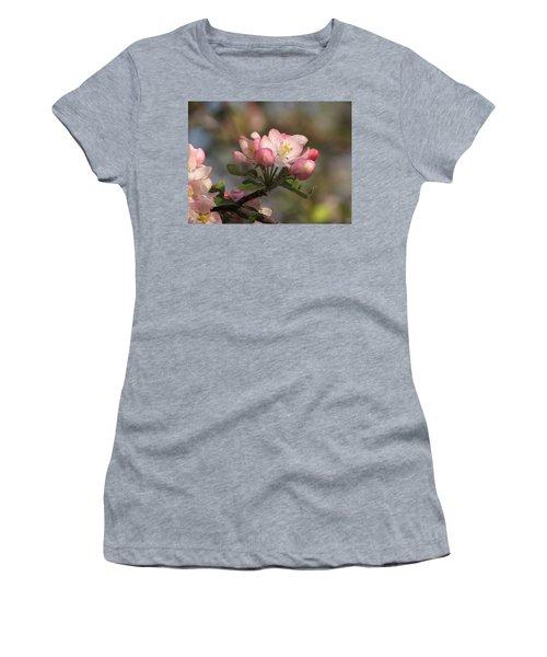 Blooming Women's T-Shirt (Junior Cut) by Kimberly Mackowski