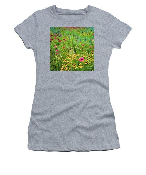 Blooming Wildflowers Women's T-Shirt