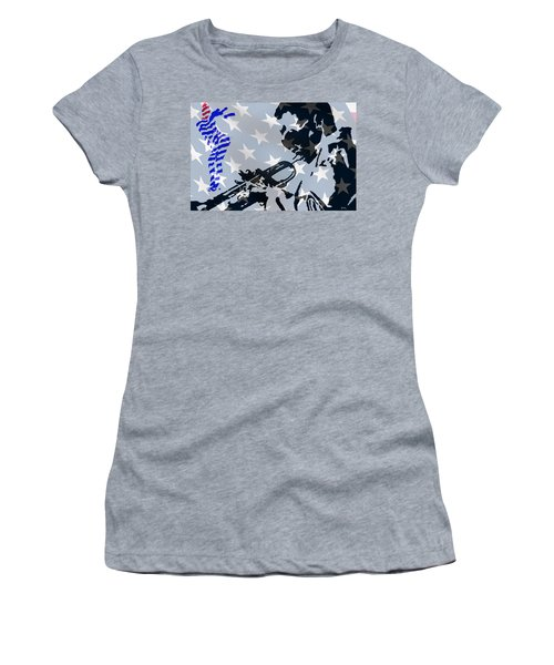 Blow Your Horn Women's T-Shirt (Athletic Fit)
