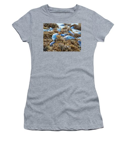 Seeing Blue At The Beach Women's T-Shirt
