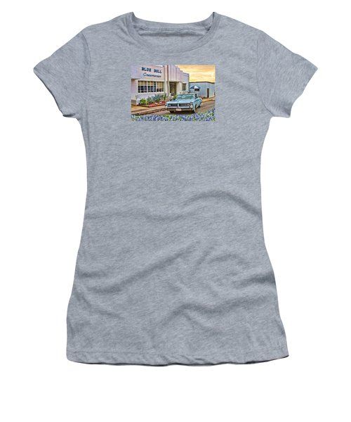 Blue Bell, Bluebonnets, And My Grand Prix Women's T-Shirt (Athletic Fit)