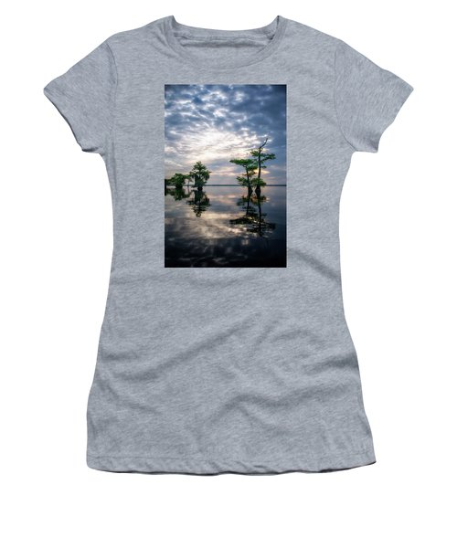 Blue Cypress Sunrise #1 Women's T-Shirt