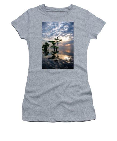 Blue Cypress Sunrise #2 Women's T-Shirt