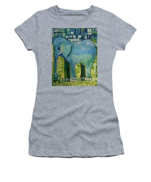 Blue Elephant Women's T-Shirt
