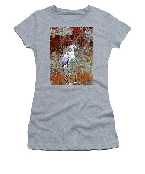 Blue Heron Iv Women's T-Shirt (Athletic Fit)