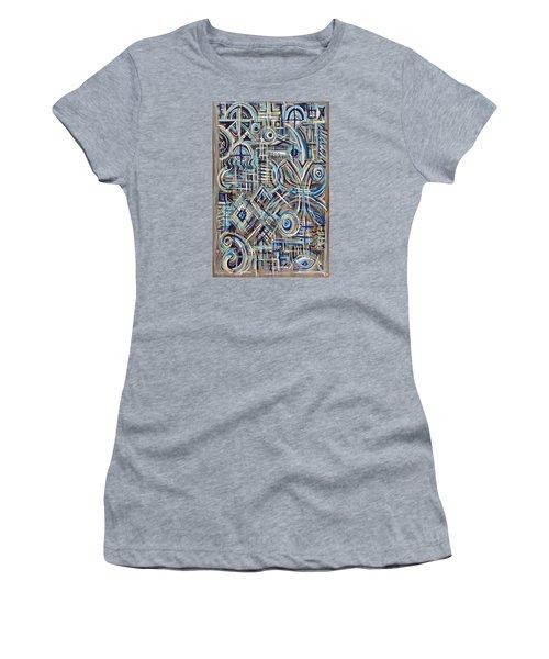 Blue Raucous Women's T-Shirt (Athletic Fit)