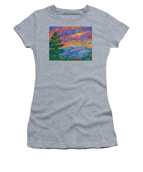 Blue Ridge Jewels Women's T-Shirt (Athletic Fit)