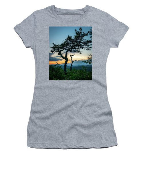 Blue Ridge Mountains Dr. Tree Women's T-Shirt