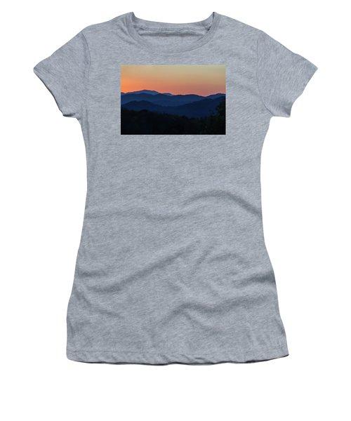 Blue Ridge Sunset Women's T-Shirt
