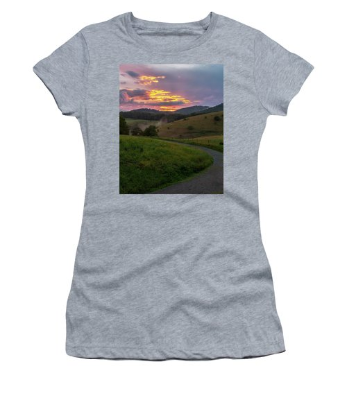 Blue Ridge Sunset Women's T-Shirt