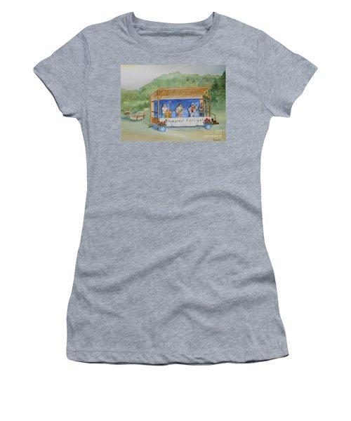 Bluegrass Festival Women's T-Shirt (Athletic Fit)