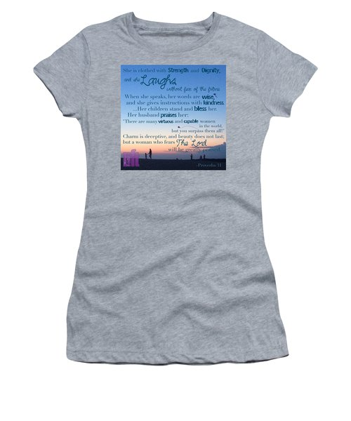 Blueprint For Life... Who Can Find A Women's T-Shirt