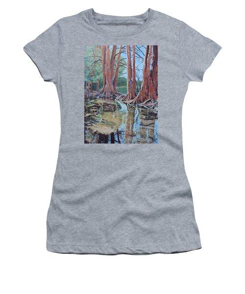 Boerne River Scene Women's T-Shirt