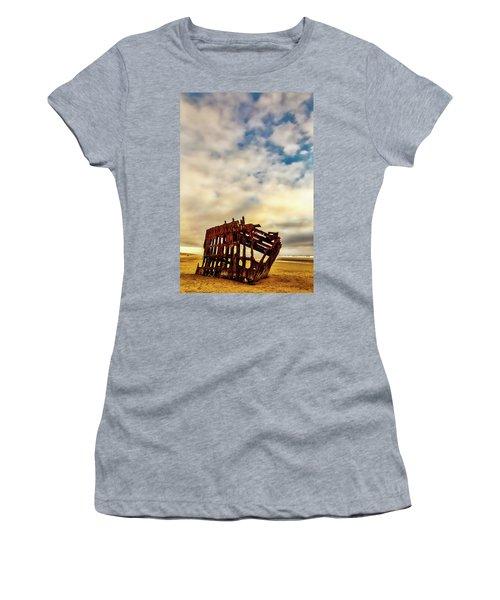 Bones Of A Shipwreck Women's T-Shirt (Athletic Fit)