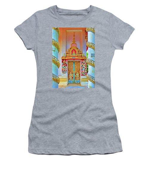 Bophut Temple In Thailand Women's T-Shirt