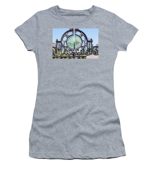 Boston Garden Gate Detail Women's T-Shirt (Athletic Fit)