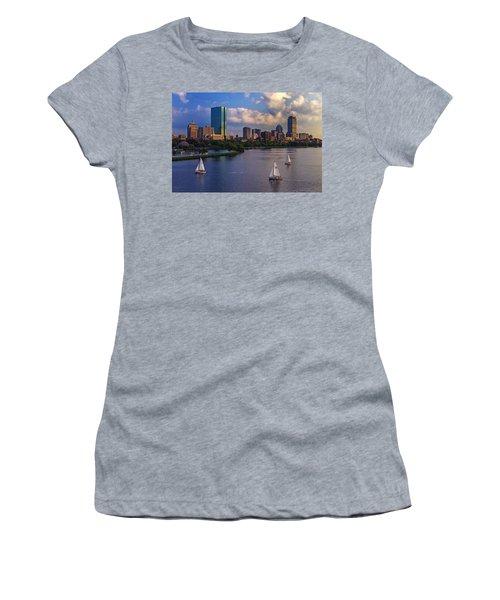 Boston Skyline Women's T-Shirt
