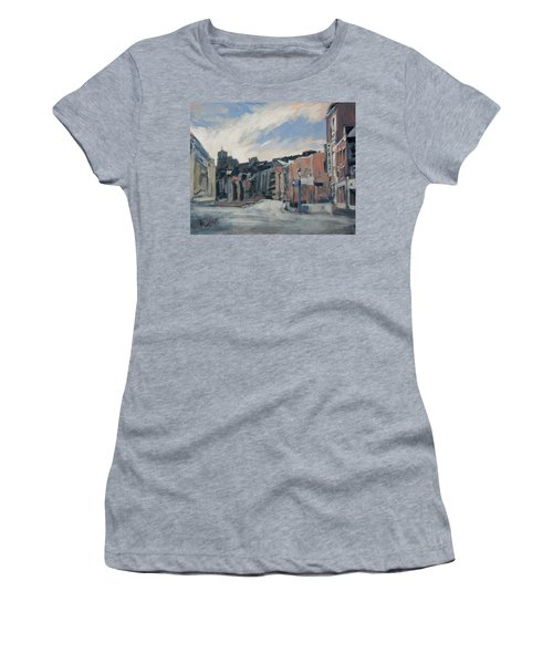 Boulevard La Sauveniere Liege Women's T-Shirt (Junior Cut) by Nop Briex