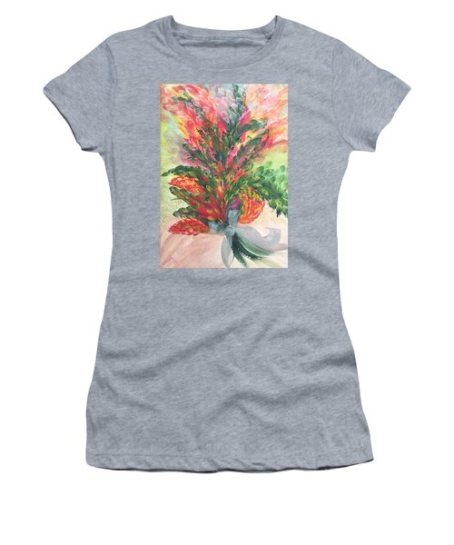 Bouquet And Ribbon Women's T-Shirt