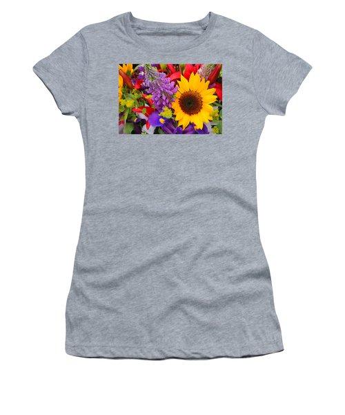 Bouquet Women's T-Shirt (Athletic Fit)