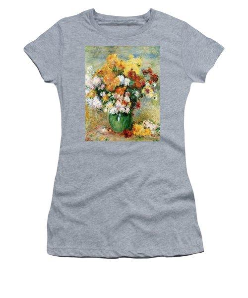 Bouquet Of Chrysanthemums Women's T-Shirt