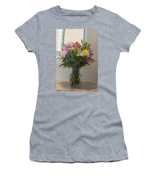 Bouquet Of Flowers Women's T-Shirt (Junior Cut) by Nance Larson