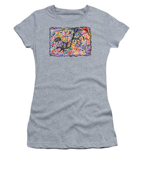 Brain Map Women's T-Shirt