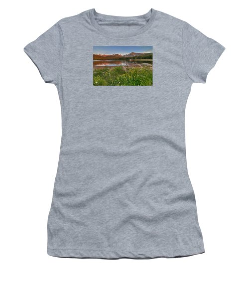 Brainard Lake Women's T-Shirt (Athletic Fit)