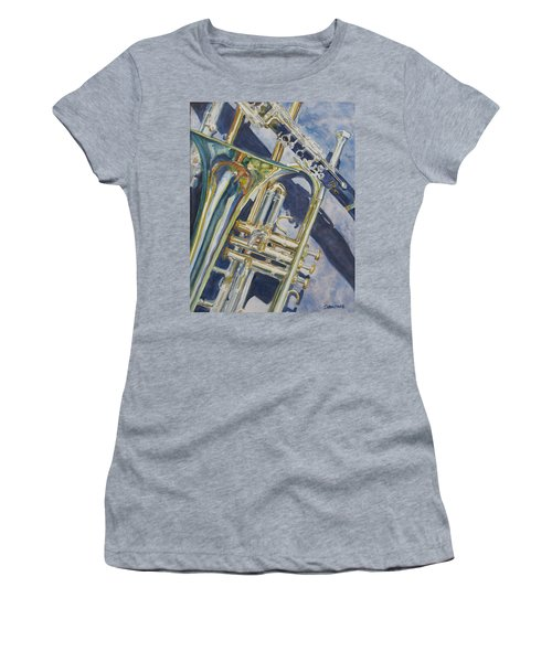 Brass Winds And Shadow Women's T-Shirt (Athletic Fit)