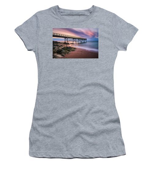 Breaking Out Women's T-Shirt (Athletic Fit)