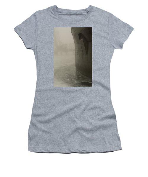 Bridge And Barge Women's T-Shirt