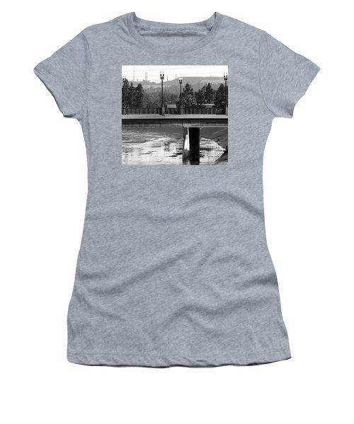 Bridge And Shopping Cart Women's T-Shirt