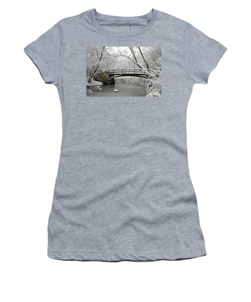 Bridge In Winter Women's T-Shirt