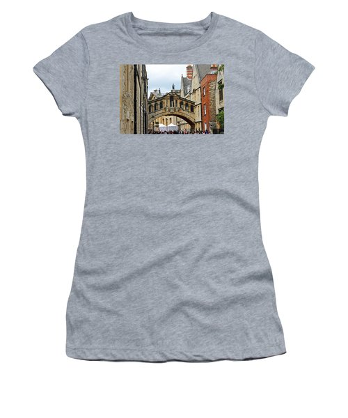 Bridge Of Sighs Women's T-Shirt (Athletic Fit)