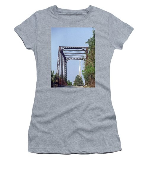 Bridge To God Women's T-Shirt (Athletic Fit)