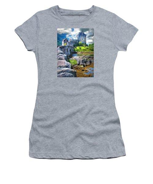 Bridge To The Castle Women's T-Shirt (Athletic Fit)