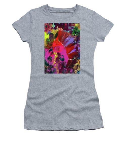 Bright Flaming Sun Flares Women's T-Shirt