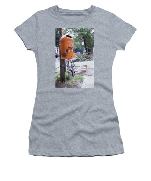 Broken Bike In Berlin Women's T-Shirt