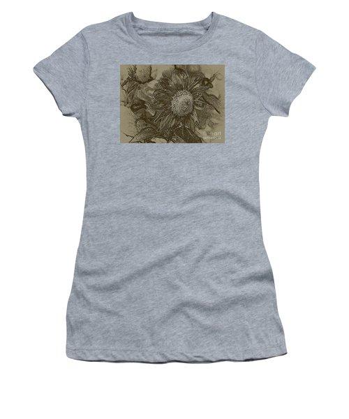 Bronzed Out Sunflower Women's T-Shirt