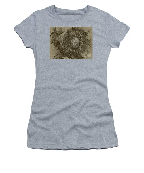 Bronzed Out Sunflower Women's T-Shirt