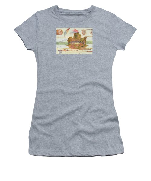 Brook Trout On Fly #2 Women's T-Shirt (Athletic Fit)