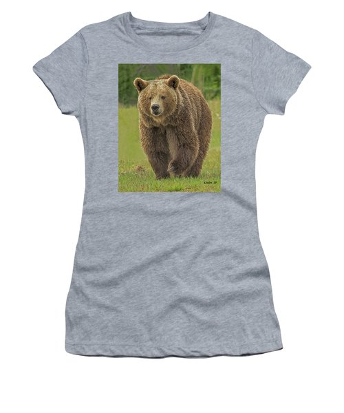 Brown Bear 1 Women's T-Shirt (Athletic Fit)