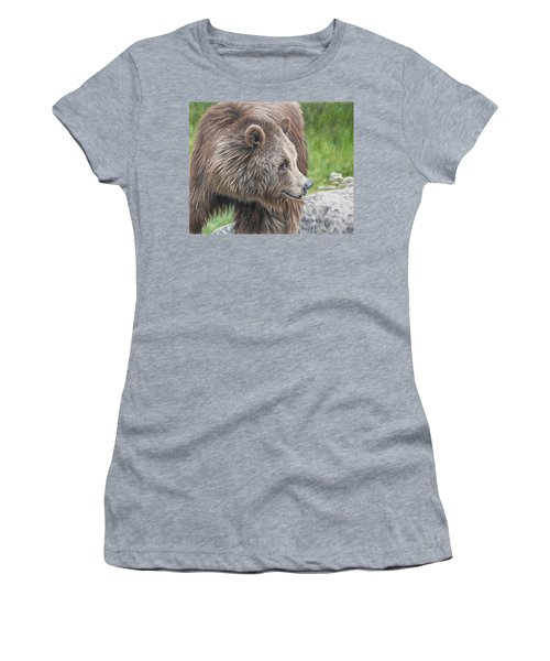 Brown Bear Women's T-Shirt (Athletic Fit)
